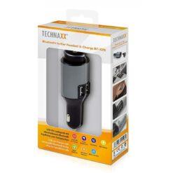 Auricolari Bluetooth v4.0 In-Ear e Caricabatterie da Auto, BT-X25