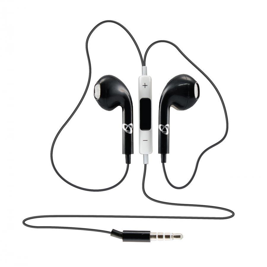 Auricolari In Ear con microfono Neri