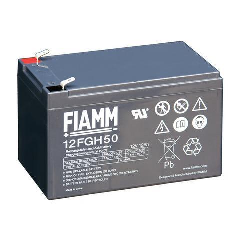 Batteria Piombo-Acido 12V 12,0Ah (Faston 6,3mm)