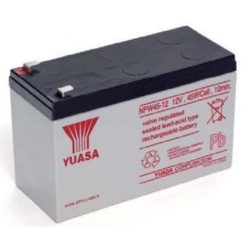 Batteria Piombo-Acido per UPS 12V 8,5Ah, NPW45-12 (Faston 250 6,30 mm)