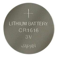 Blister 1 Batteria Litio a Bottone CR1616