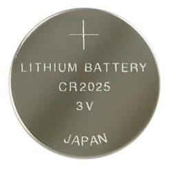 Blister 1 Batteria Litio a Bottone CR2025