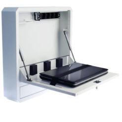 Box di Sicurezza per Notebook e Accessori per LIM Bianco RAL9016