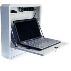 Box di Sicurezza per Notebook e Accessori per LIM Bianco RAL9016
