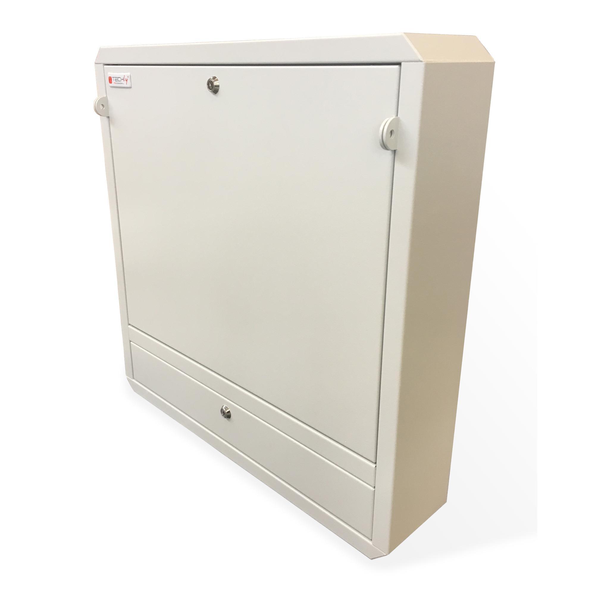 Box di Sicurezza per Notebook e Accessori per LIM con predisposizione per lucchetto Grigio