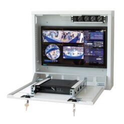 Box di sicurezza per DVR e sistemi di videosorveglianza Grigio