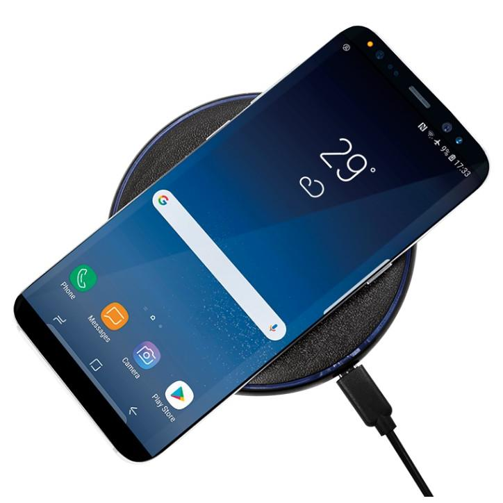 Caricabatterie Wireless Qi Stand 5W Nero