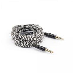 Cavo Audio Stereo Jack 3.5 mm M/M 1,5m Nero