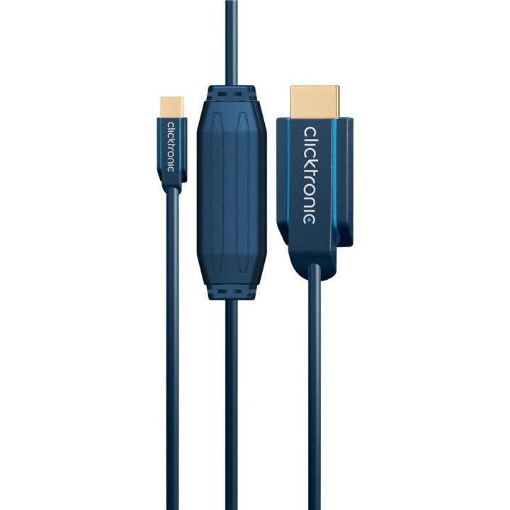 Cavo Mini DisplayPort HDMI M/M 2m Alta Qualità
