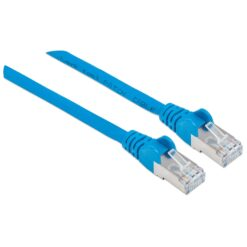 Cavo Patch Cat.7 Plug RJ45 6A S/FTP LSZH 0.25m Blu