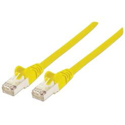Cavo Patch Cat.7 Plug RJ45 6A S/FTP LSZH 0.25m Giallo