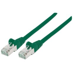 Cavo Patch Cat.7 Plug RJ45 6A S/FTP LSZH 0,25m Verde
