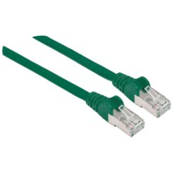 Cavo Patch Cat.7 Plug RJ45 6A S/FTP LSZH 0,5m Verde
