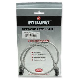Cavo di rete Patch in Rame Cat. 6A Bianco UTP 0,5 mt