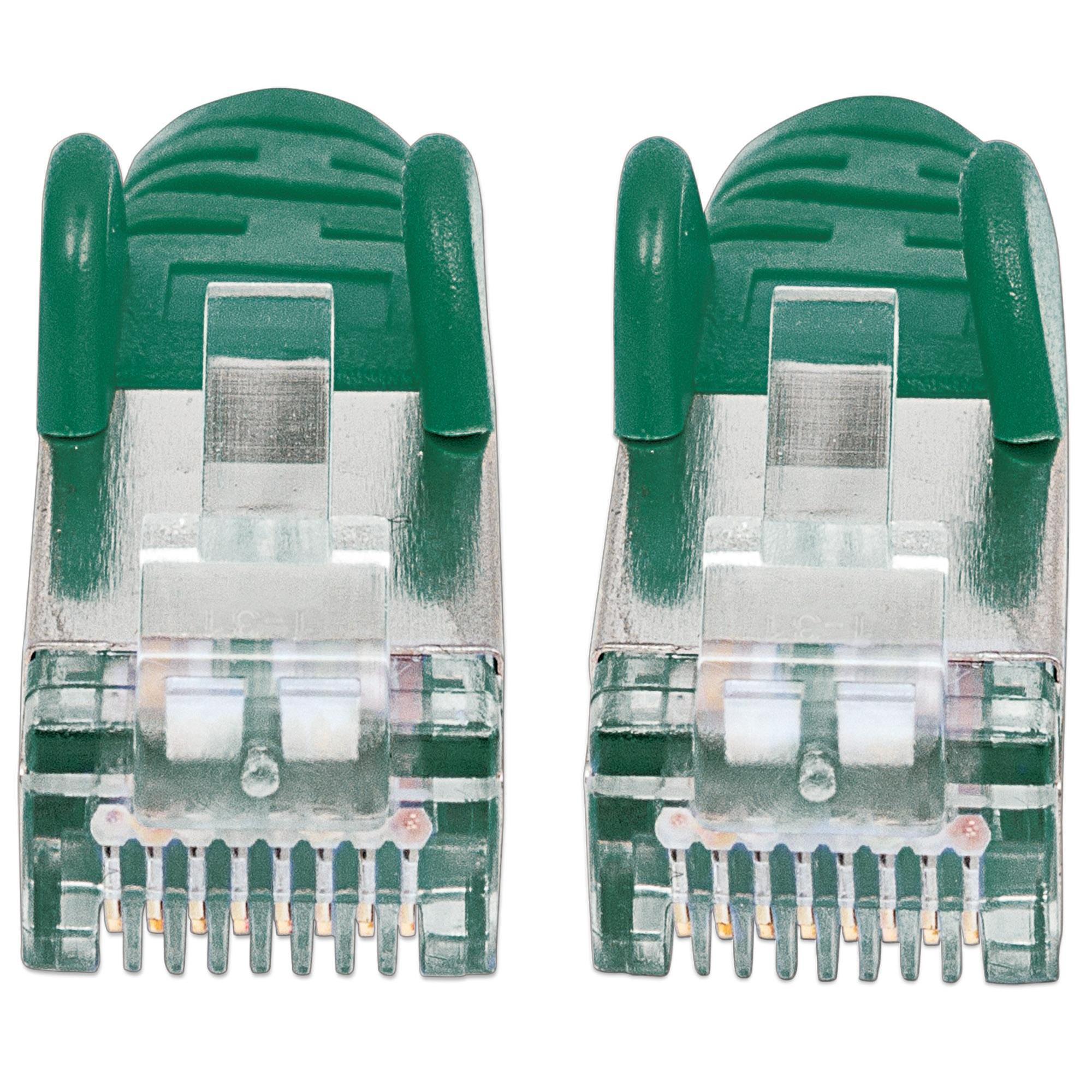 Cavo di rete Patch in rame Cat. 6 Verde SFTP LSZH 30m