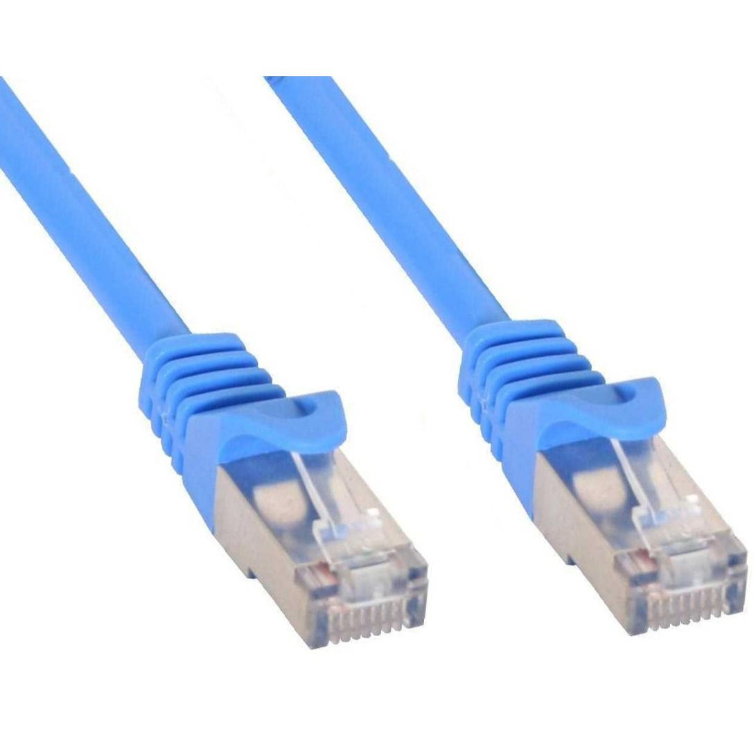 Cavo di rete Patch in rame Cat.6 Blu SFTP LSZH 2m