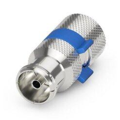 Confezione 10 Adattatori Coassiali Femmina per Cavi Diametro 6,5mm