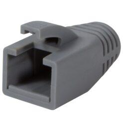 Copriconnettore per Plug RJ45 Cat.6 8mm Grigio