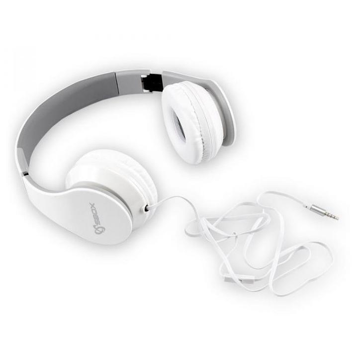 Cuffie Stereo con microfono HS-501W Bianco