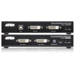 Estensore KVM USB DVI Dual View HDBaseT 2.0, CE624