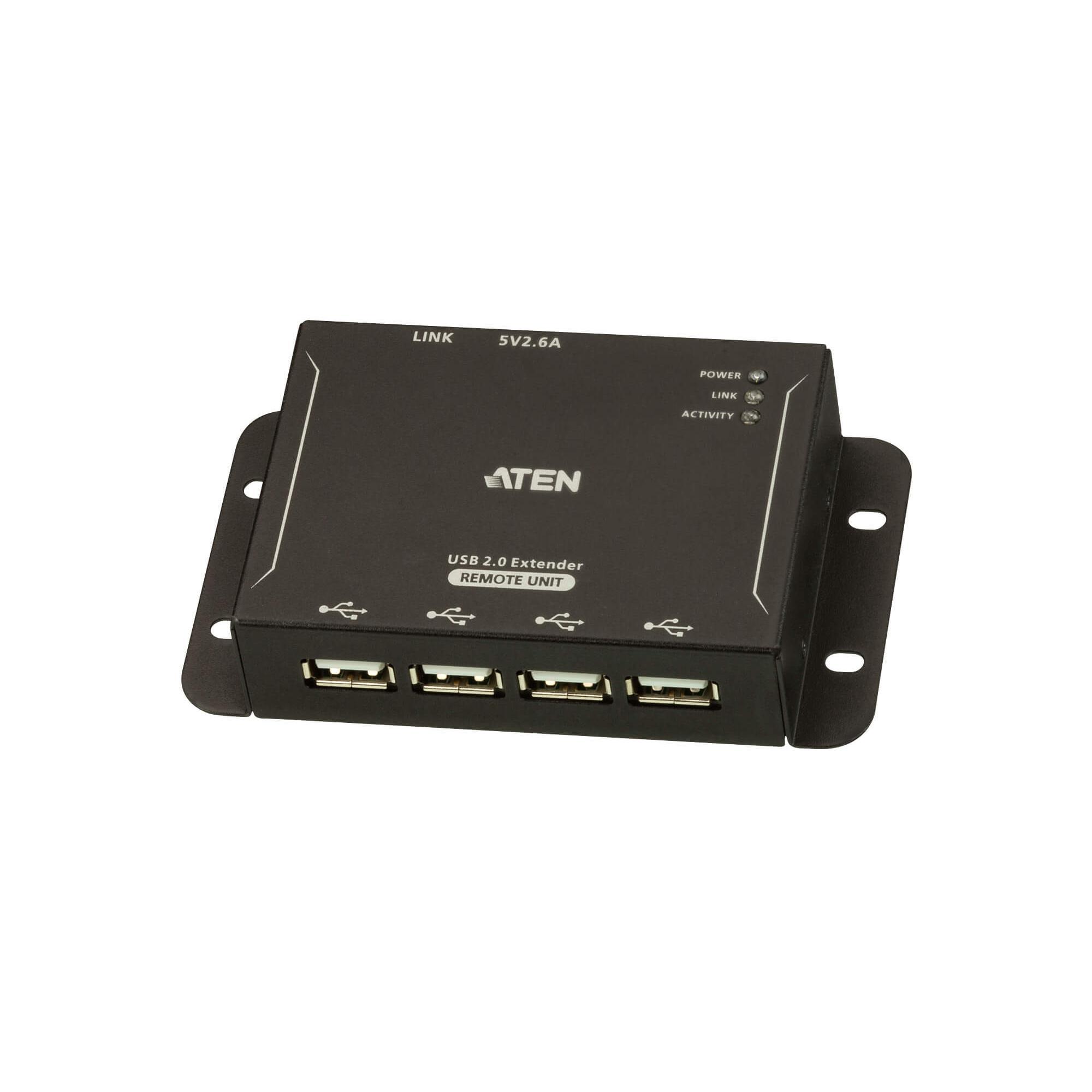 Estensore USB 2.0 CAT.5 a 4 Porte fino a 50m, UCE3250