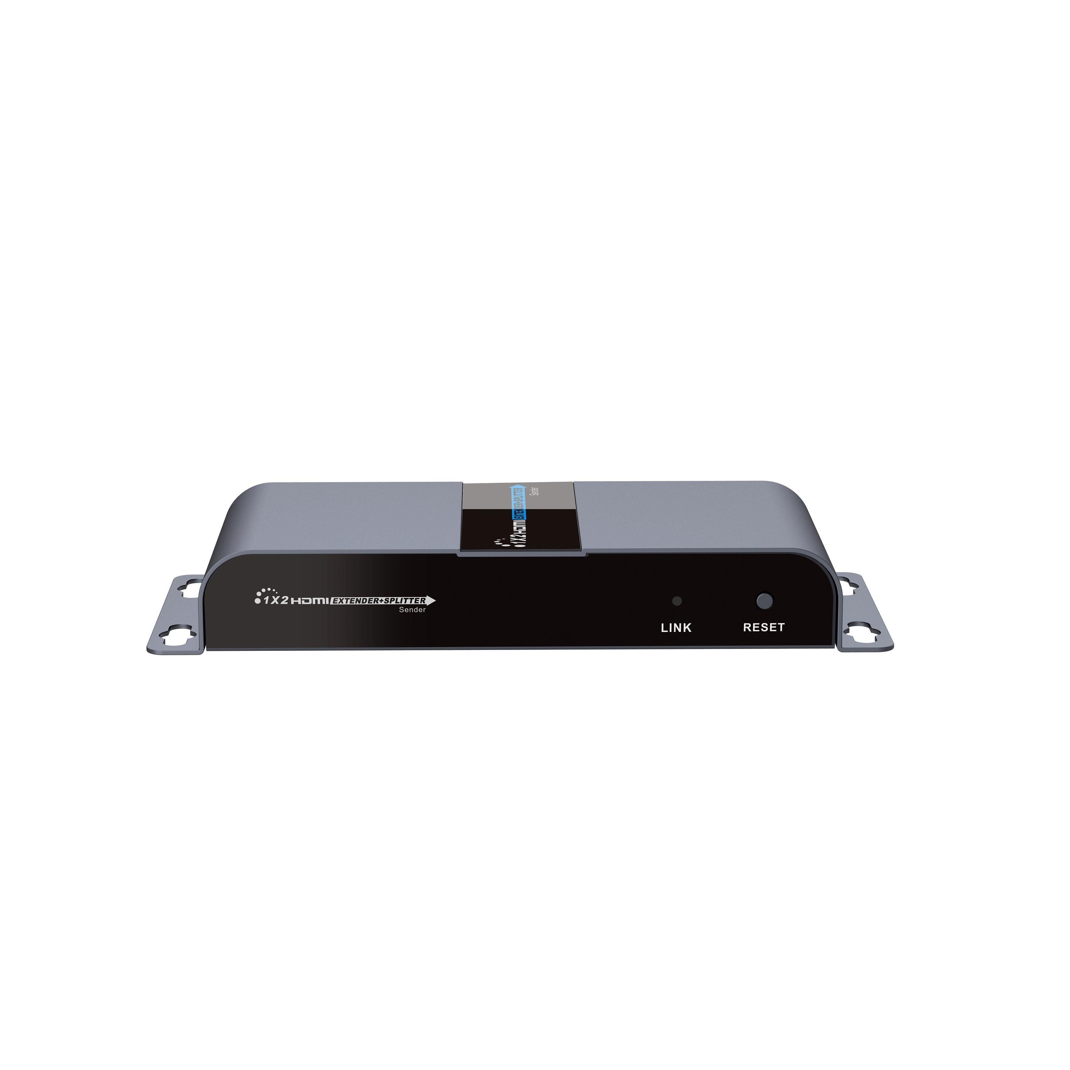 Extender Splitter HDMI 1x2 con IR su Cavo Cat. 6 fino a 40m