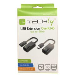 Extender USB su Cavo Cat.5E/6 60m