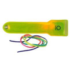 Fascia LED riflettente da appendere Giallo Fluo