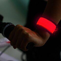 Fascia LED riflettente da polso/caviglia
