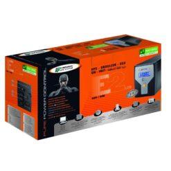 Gruppo di Continuità UPS E2 600VA LCD Line Interactive Onda Sinusoidale