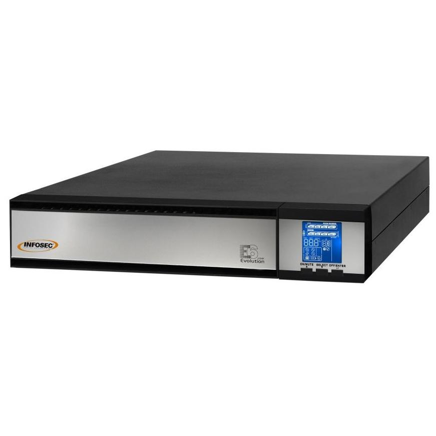 Gruppo di continuità UPS E6 LCD 3000VA 2700W Tower/Rack On Line