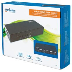 HDMI KVM Switch 4 porte