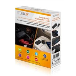 Jump Starter Power Bank 10A con LED 2x USB, TX-78