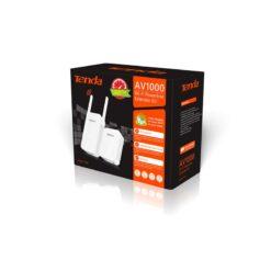 Kit Adattatore Powerline Gigabit AV1000 con Extender