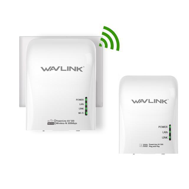Kit Home plug Wireless AV500Mbps