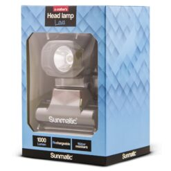 Lampada LED Frontale Ricaricabile 1000 Lumen