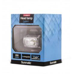 Lampada LED Frontale Ricaricabile 200 Lumen