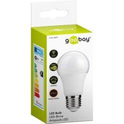Lampada LED Globo E27 Bianco Caldo 9W, Classe A+