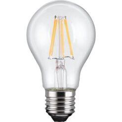 Lampadina LED E27 Bianco Caldo 7W con Filamento Classe A++