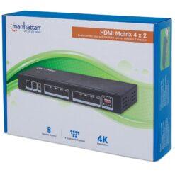Matrix HDMI 4x2 4K@30Hz