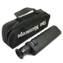 Microscopio per fibra ottica con adattatori ST/SC/FC/DIN