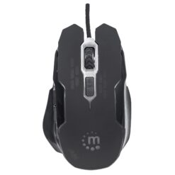 Mouse Gaming USB 2400dpi 6 Tasti Nero