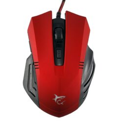 Mouse Gaming USB 3200dpi 6 Tasti Rosso Hannibal GM-1602