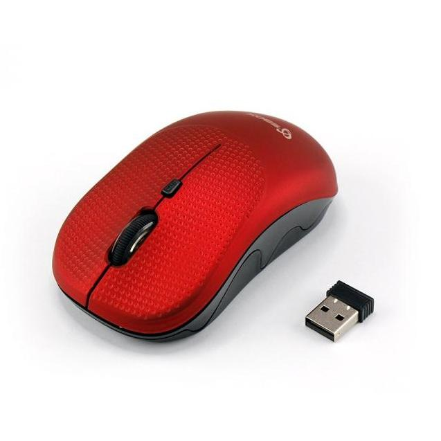 Mouse Wireless 1600dpi WM-106R Strawberry Rosso