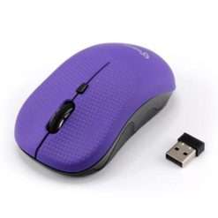 Mouse Wireless 1600dpi WM-106U Plum Viola