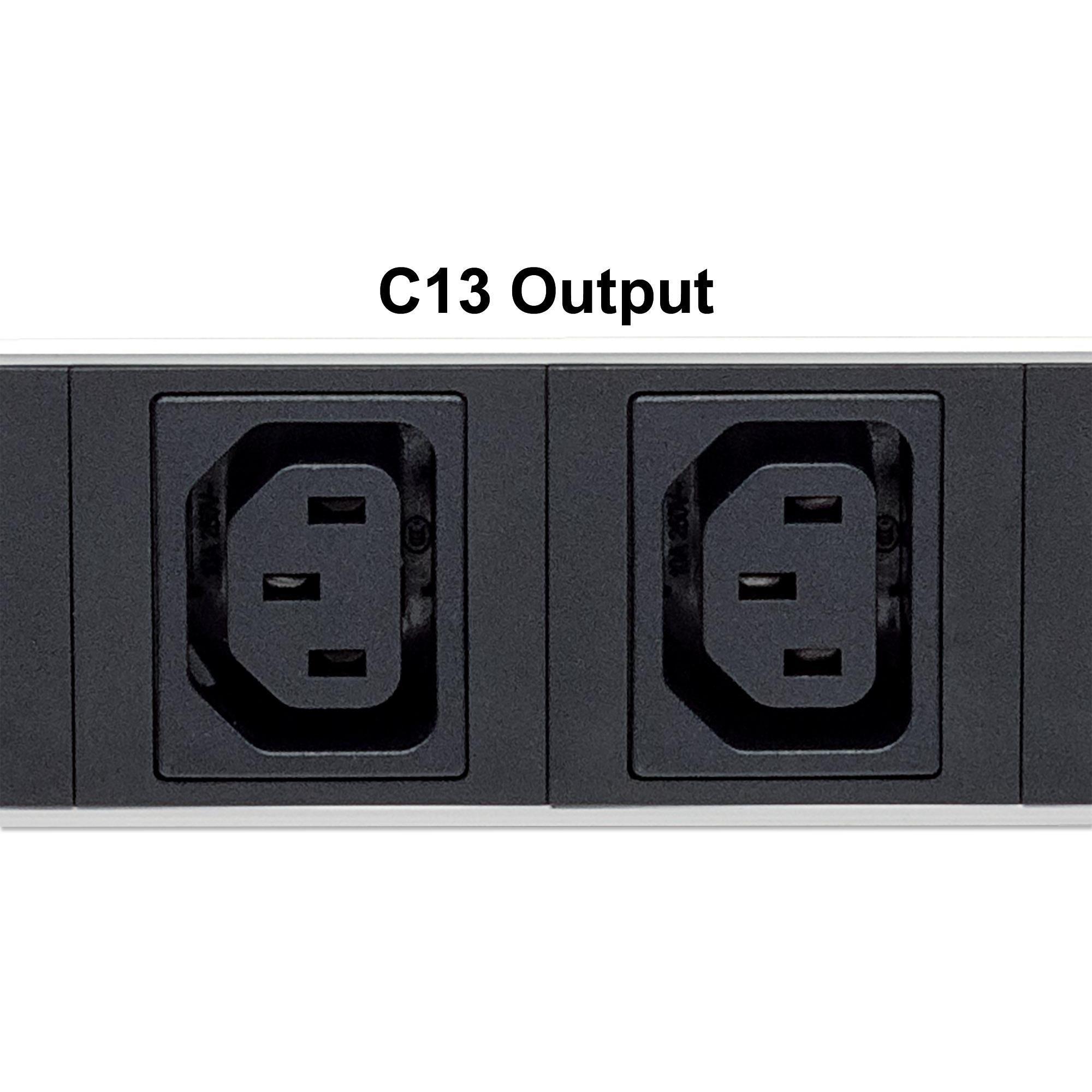 Multipresa montaggio verticale 12 uscite C13