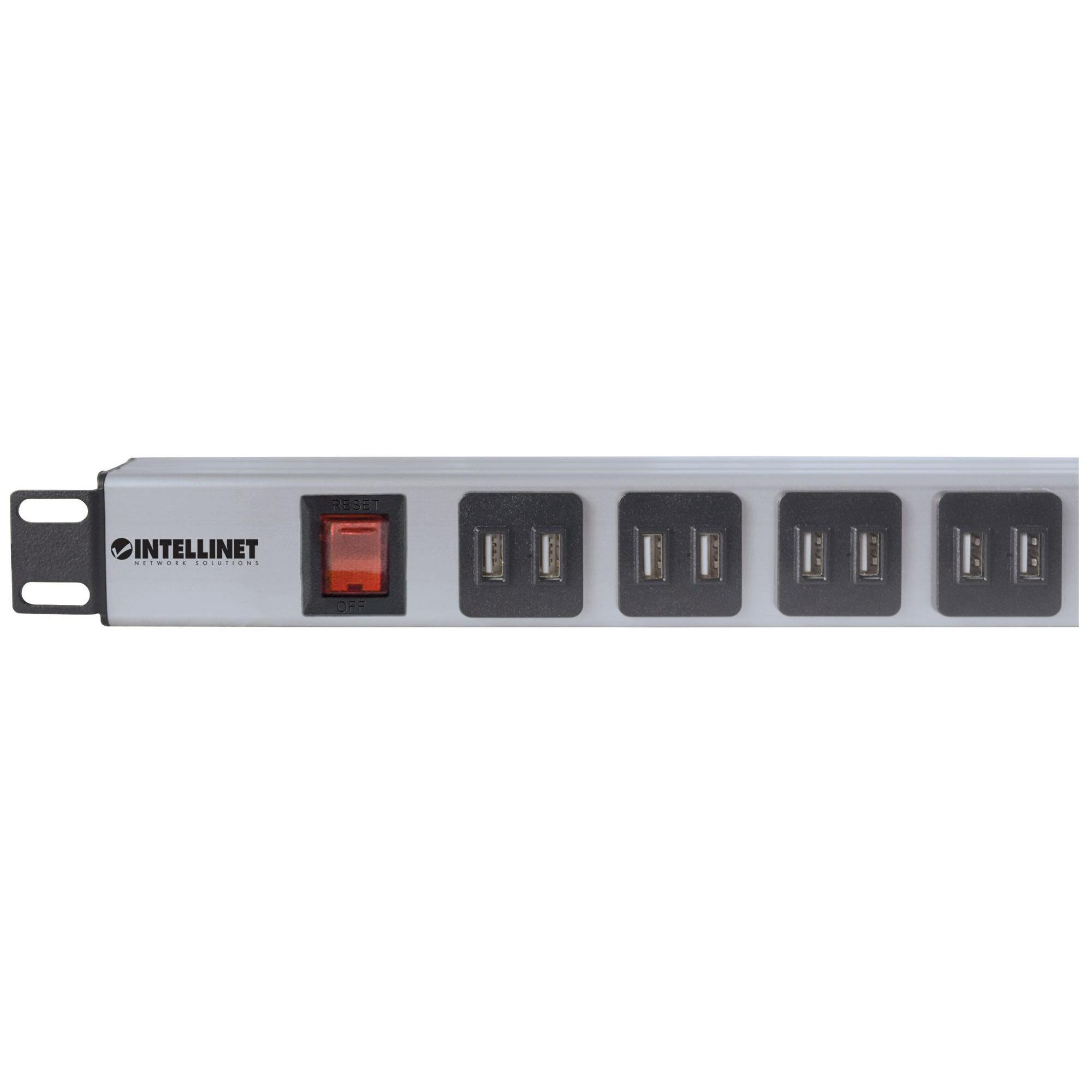 Multipresa per Rack 16 uscite USB tipo A