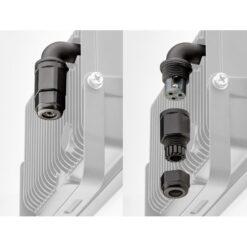 Proiettore LED Nero IP44 30W 2500lm Sensore Movimento, Classe A+