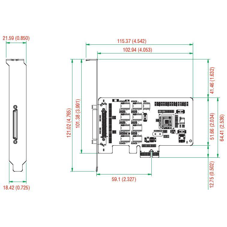 Scheda Seriale PCI Express 8 porte CP-168EL-A