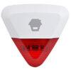 Sirena Wireless da Esterno IP54 con Lampeggiante LED WS-280, per Antifurto